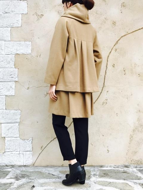 KAENE (カエン)  ウールフードコート