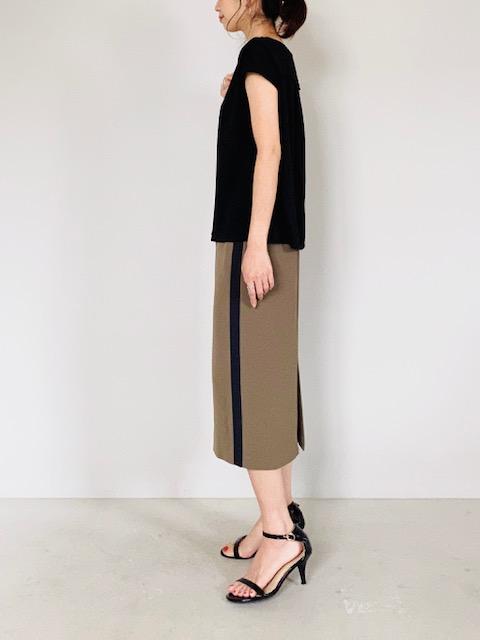 SELECT(セレクト)  サイドラインタイトスカート