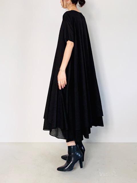 SELECT(セレクト)  ベルト付裾レイヤードロングワンピース