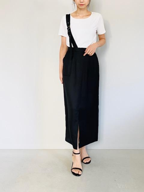 SELECT(セレクト)  ワンショルダーロングタイトスカート