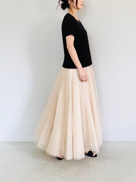 SELECT(セレクト)  チュールロングスカート