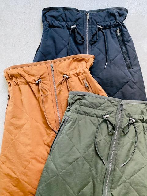 SELECT(セレクト)  ZIPキルティングスカート