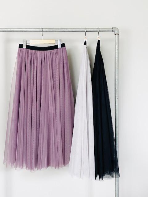 SELECT(セレクト) チュールエアリーロングスカート