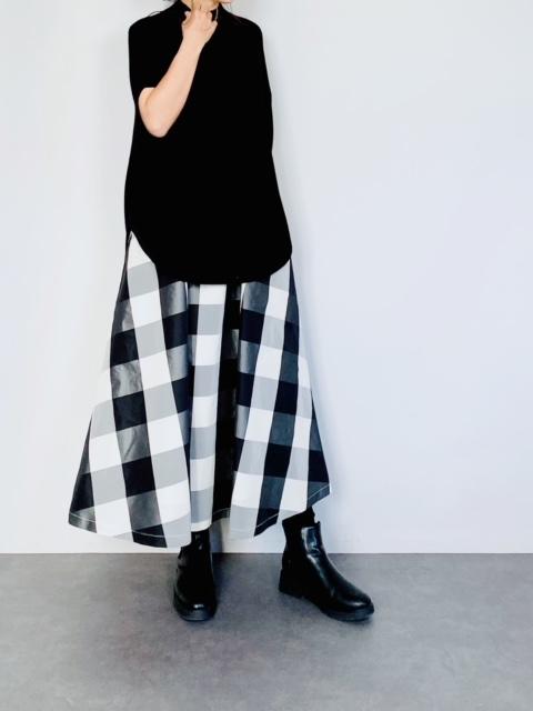 SELECT (セレクト)  BIGチェックメモリーフレアースカート