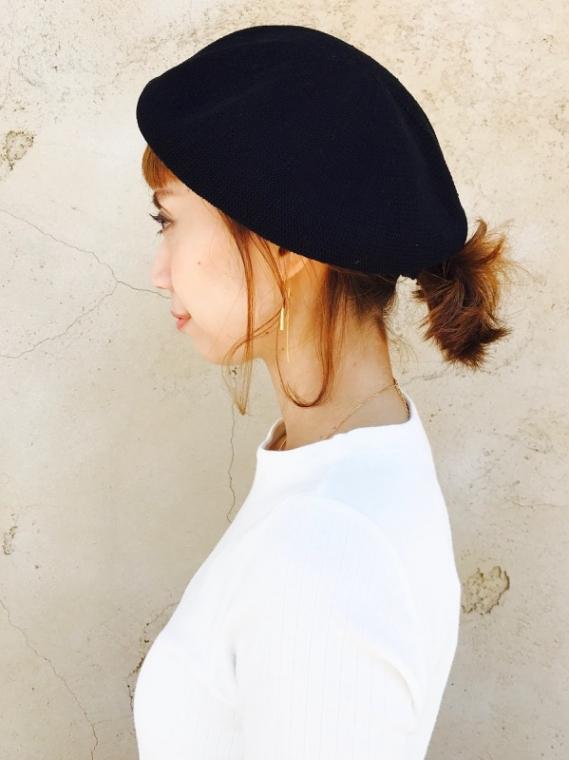 Import(インポート)  ベレー帽
