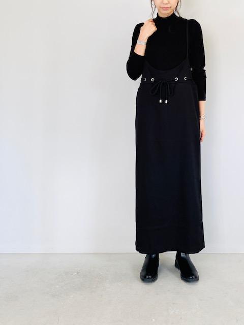 SELECT (セレクト)  ウエスト紐付タイトジャンパースカート
