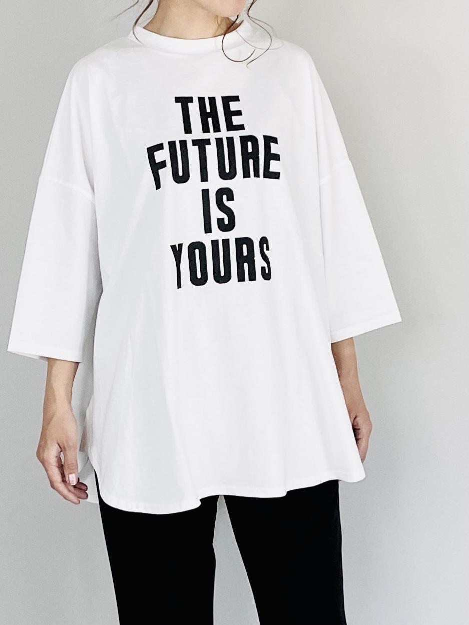 SELECT(セレクト)  ビックロゴ七分袖Tシャツ