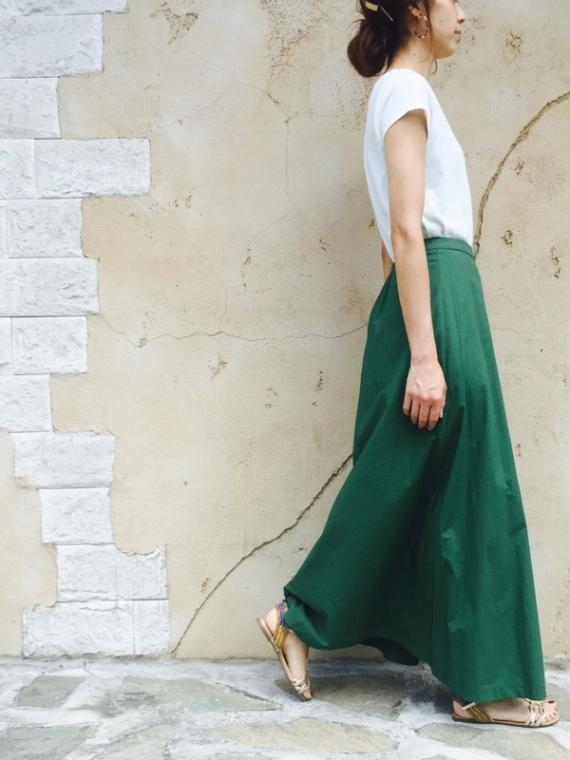 PRAISE(プレイズ)  ラップマキシスカート