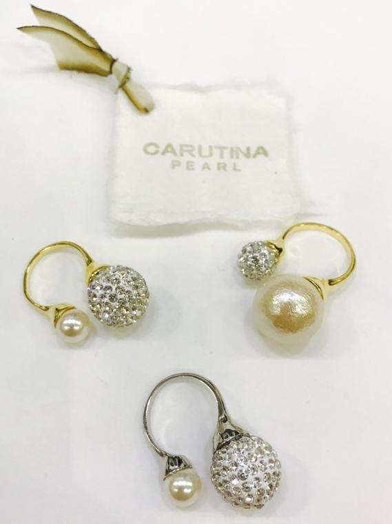 CARUTINA(カルティナ)  コットンパールリング