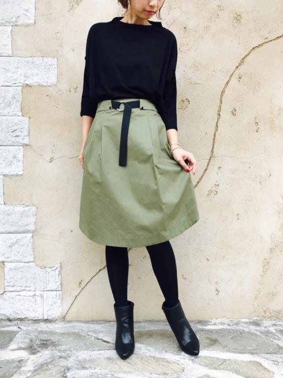 Haru's Ami(ハルズアミ)  裾ラウンド スカート