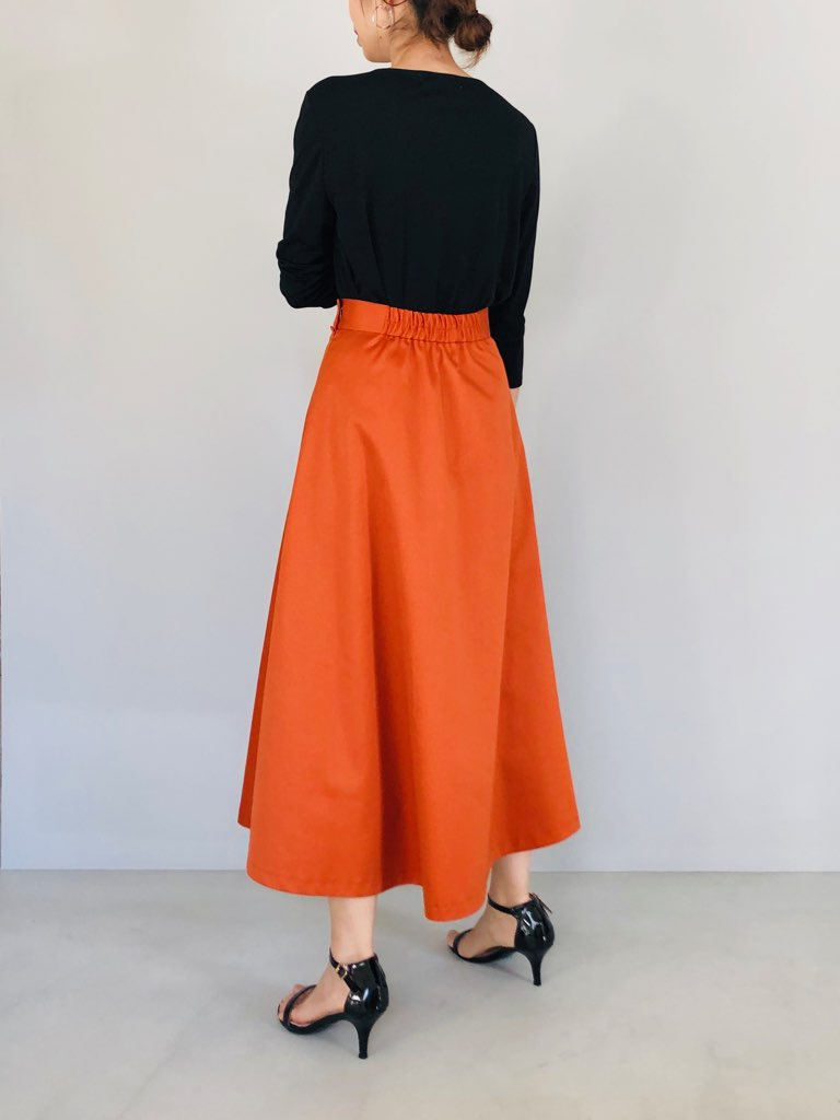 SELECT(セレクト)  Aラインボリュームチノスカート