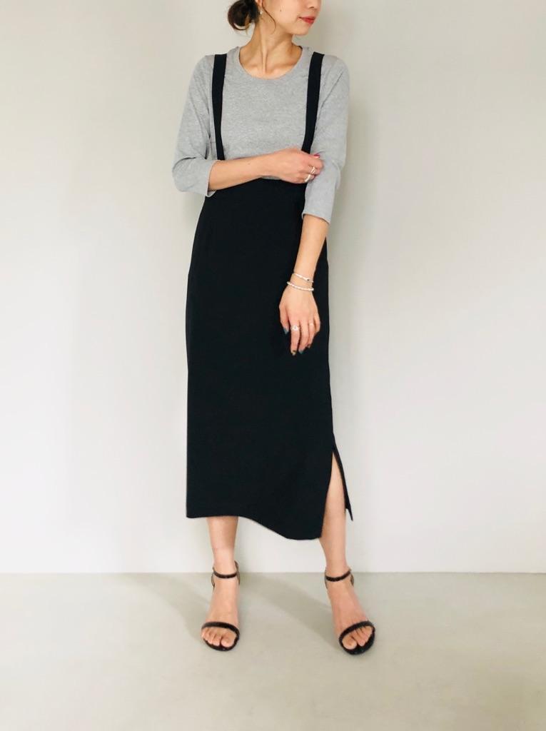 SELECT(セレクト)  サスペンダーストレートスカート