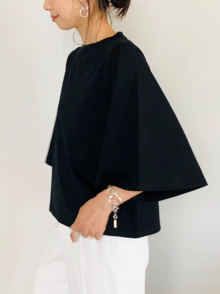 SELECT(セレクト)  袖フレアーTシャツ