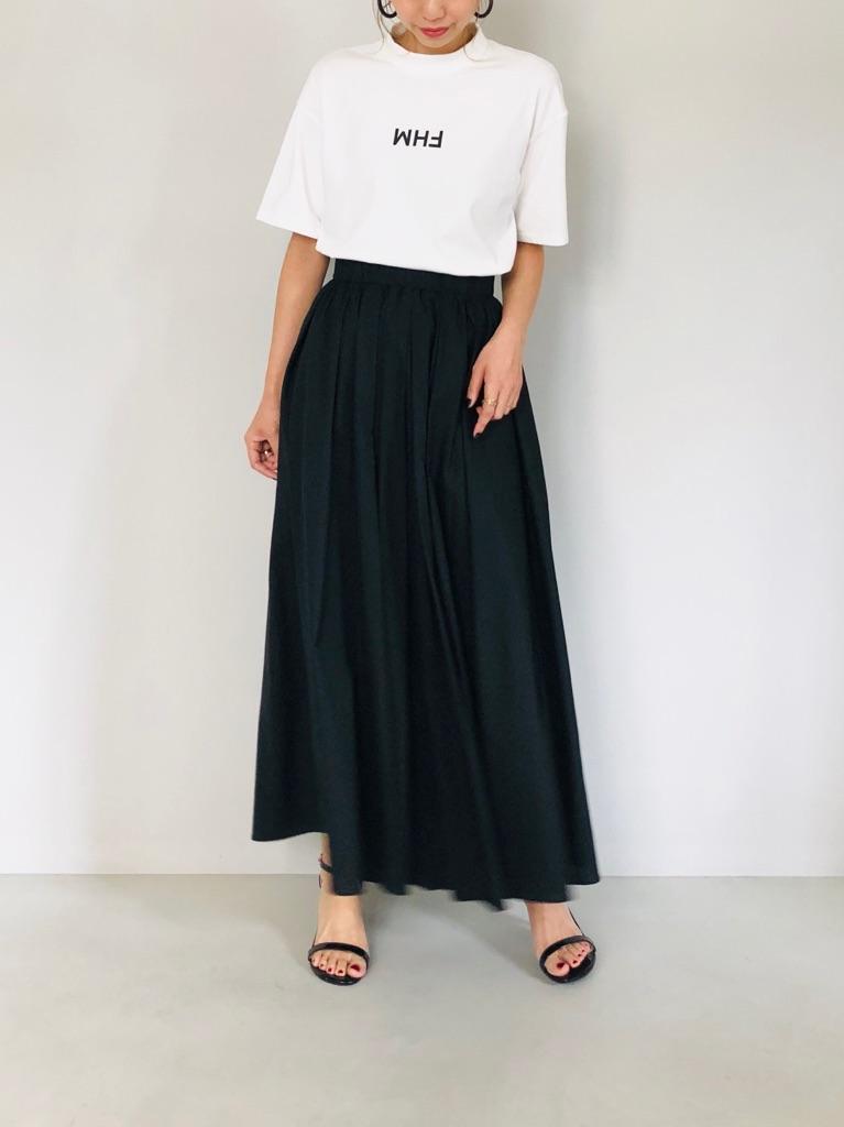 SELECT(セレクト)  MHF t-shirt (フロントロゴリブハイネックトップス)