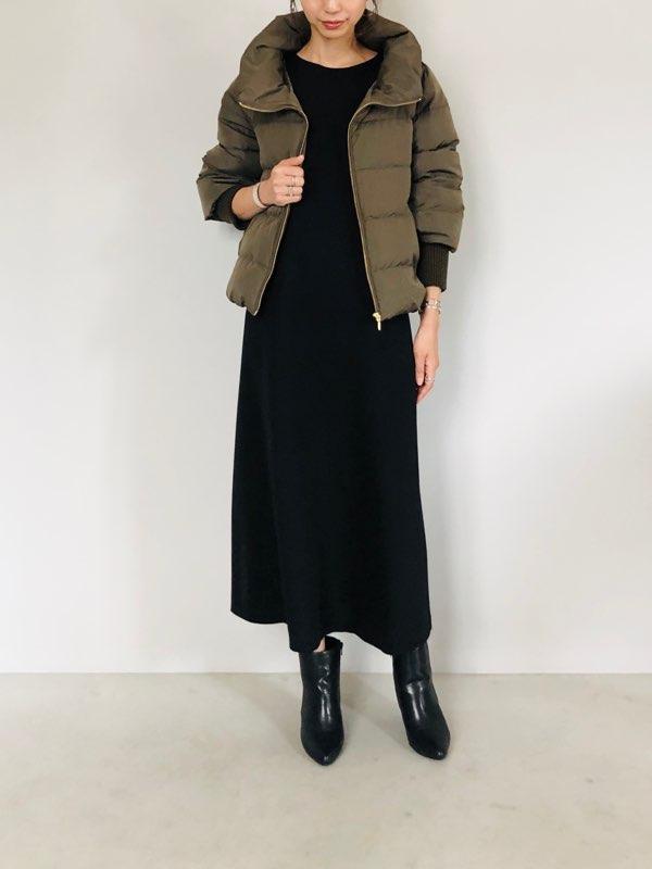 SELECT(セレクト)  袖リブダウンコート