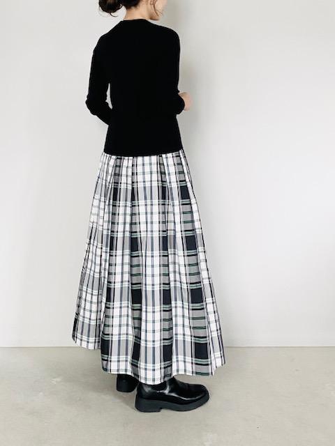 SELECT (セレクト)  ウエストギャザーロングスカート