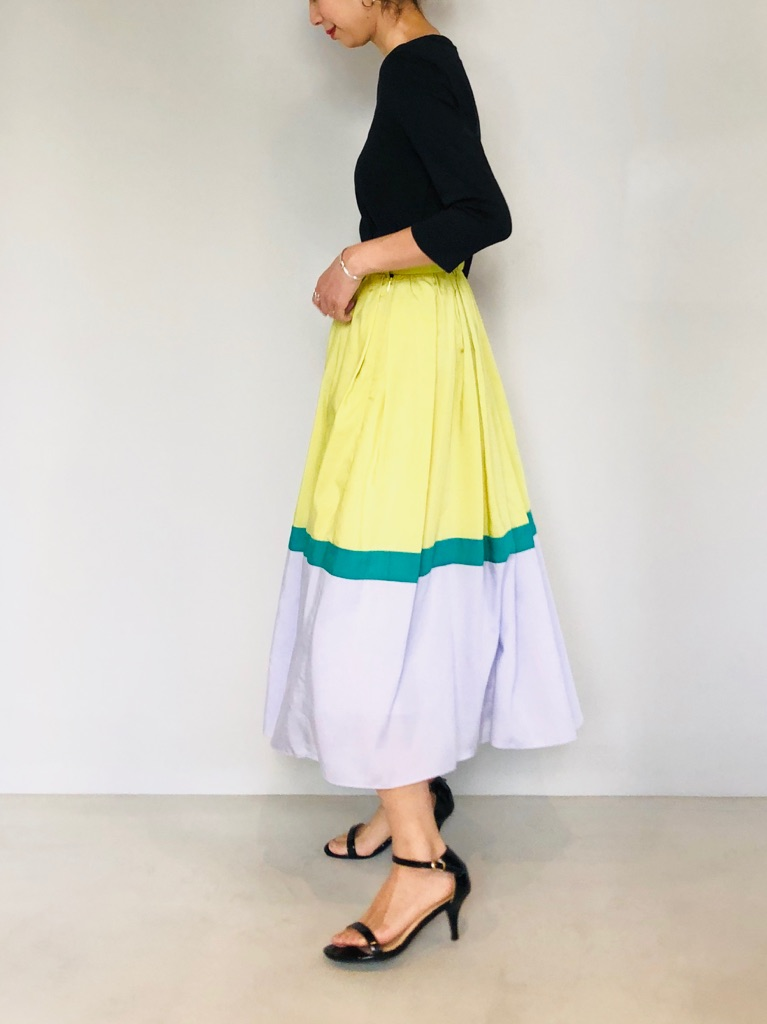 SELECT(セレクト)  ローンカラー切り替えスカート