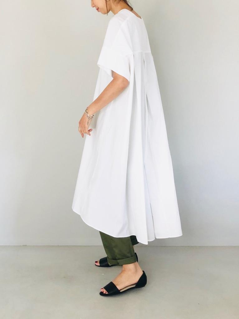 SELECT(セレクト)  半袖スキッパーシャツワンピ