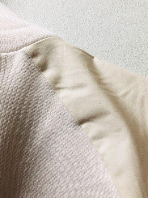 袖異素材仕様
