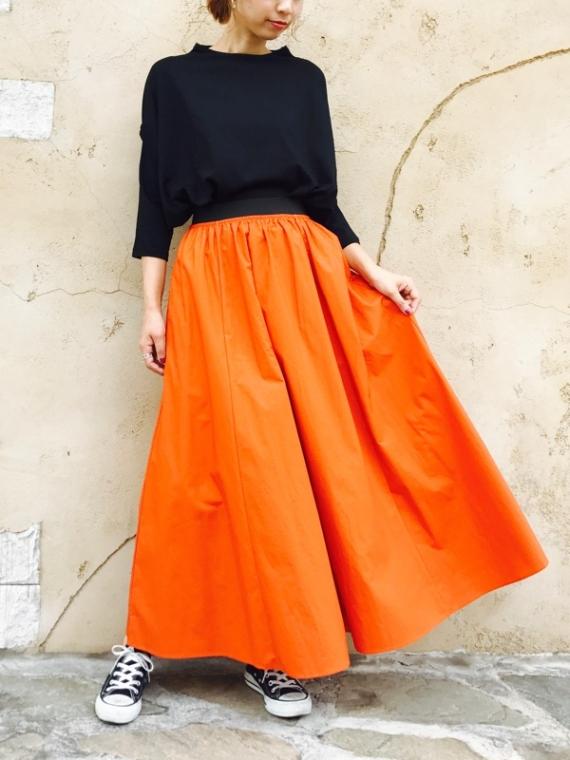 SELECT (セレクト) コットンボリュームロングスカート
