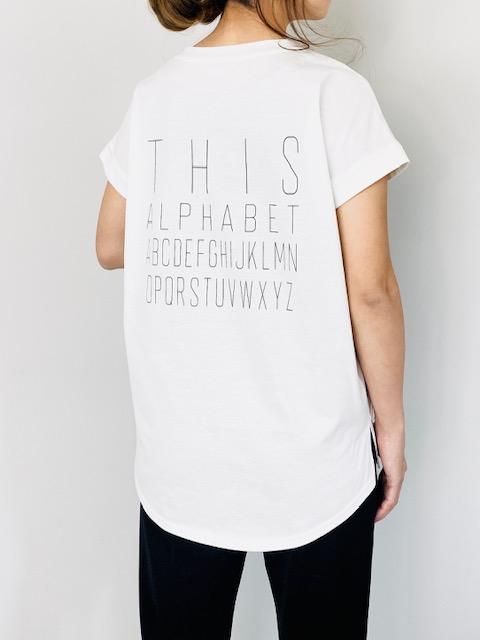 SELECT(セレクト) バックロゴフレンチスリーブTシャツ