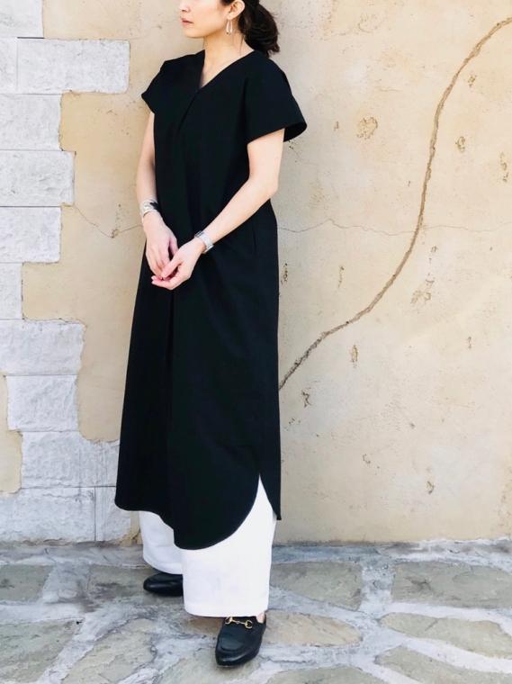 SELECT(セレクト)  2WAYコットン スキッパーシャツドレス