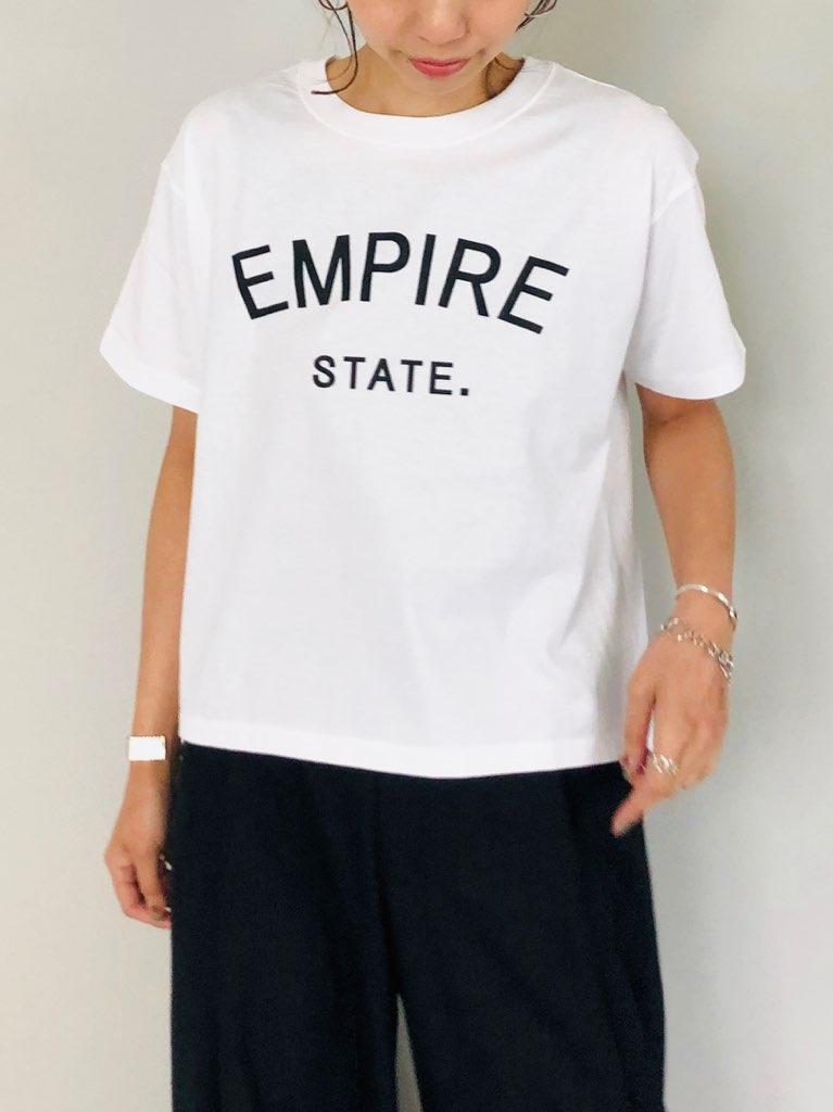siro(シロ)  ロゴプリントTee (EMPIRE)