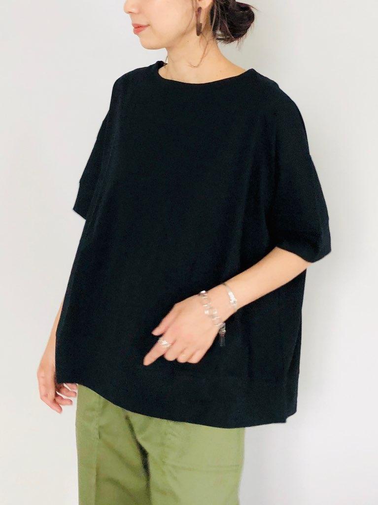SELECT(セレクト)  バックサイドスリットビッグTシャツ
