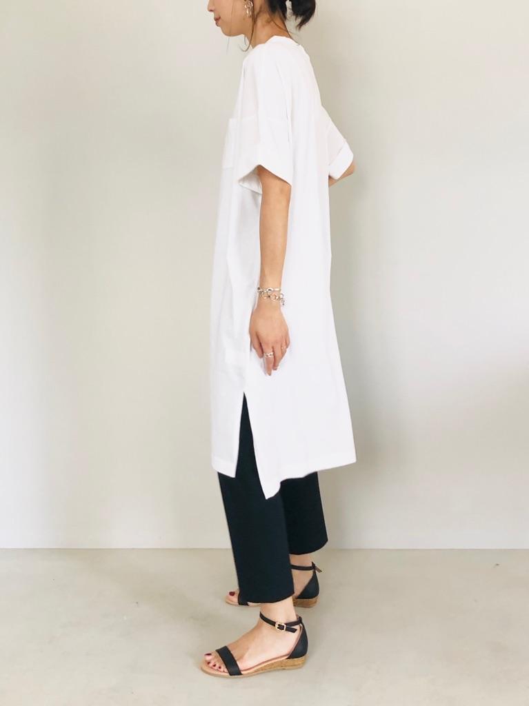 SELECT(セレクト)  半袖ポケットTシャツワンピース
