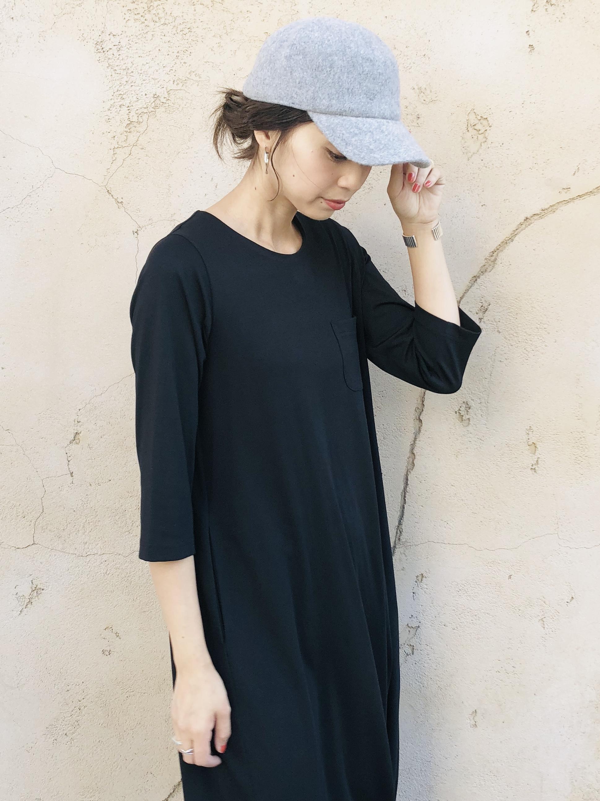 SHES(シーズ)  WOOL CAP