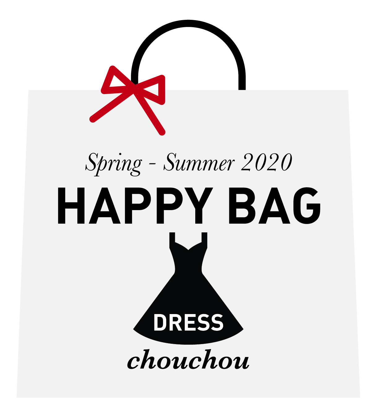 WEB限定☆2020年 Dress  Happy Bag