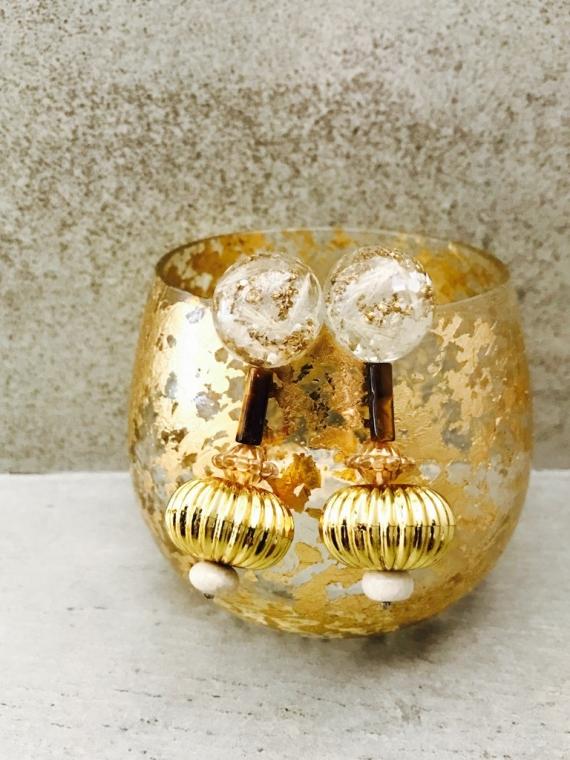 atelier nina(アトリエニナ) chouchou別注 耳飾りWater flower