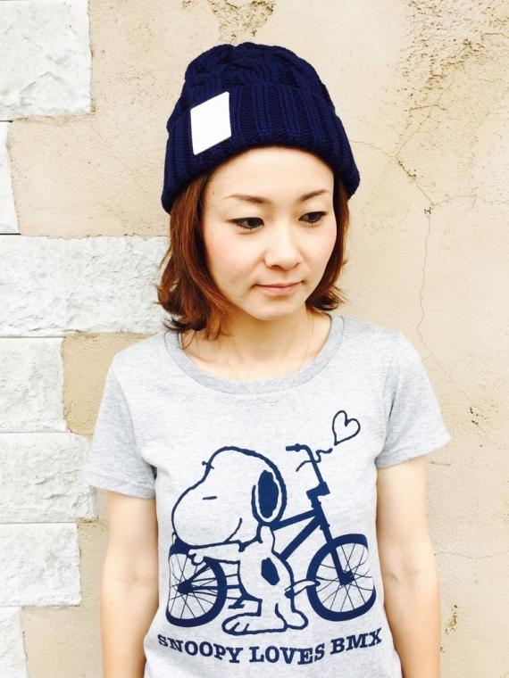 430(フォーサーティー)  chou chou別注 KNIT CAP