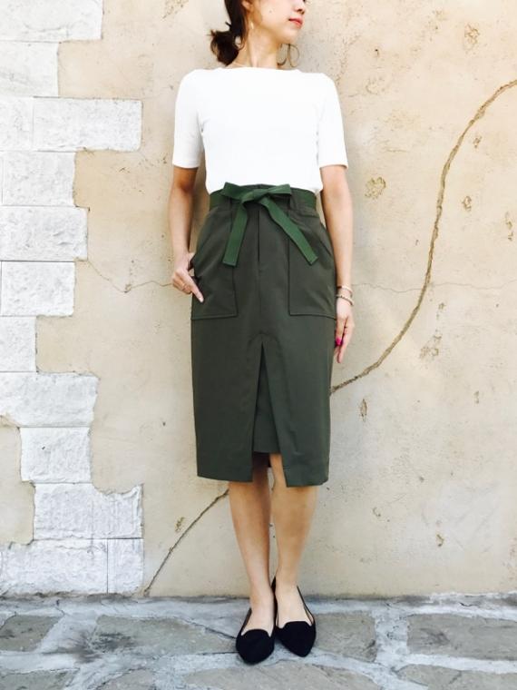 TROIS(トロワ)  ストレッチタイトスカート