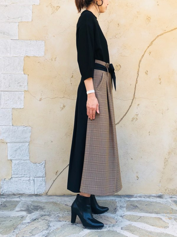SELECT(セレクト)  前後2wayスイッチフレアースカート
