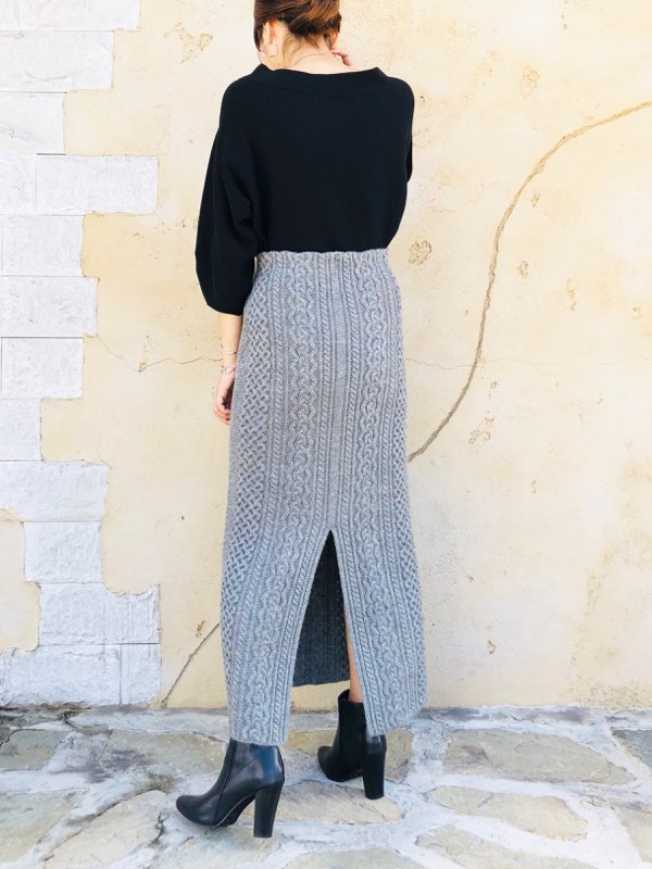 SELECT(セレクト)  ニットタイトスカート