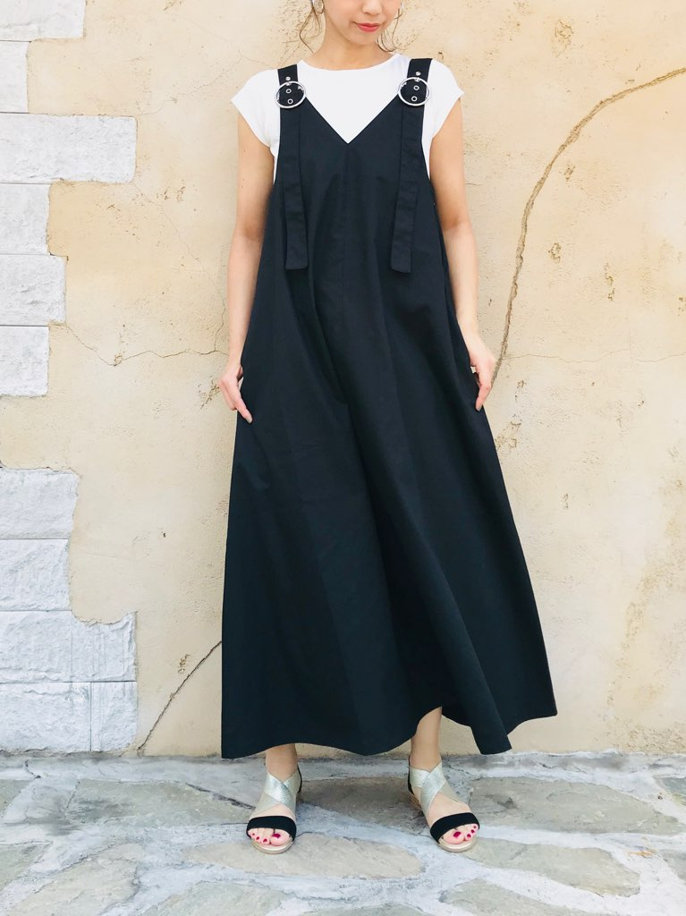 SELECT(セレクト)  Aラインジャンパースカート