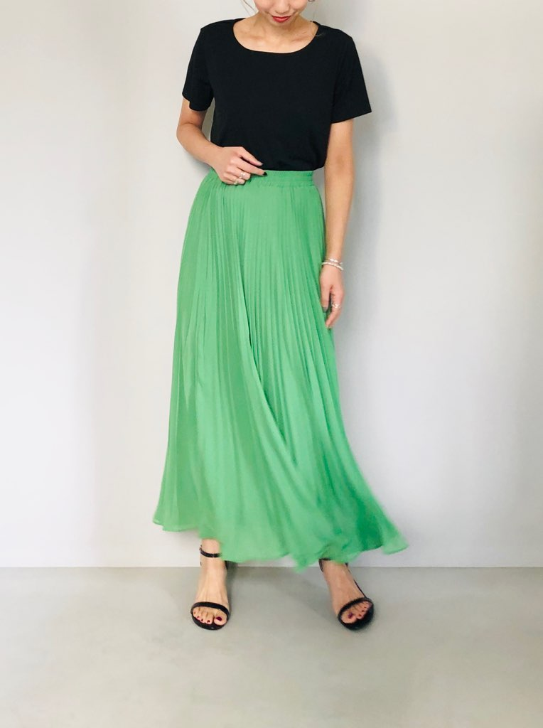 SELECT(セレクト)  アコーディオンプリーツスカート
