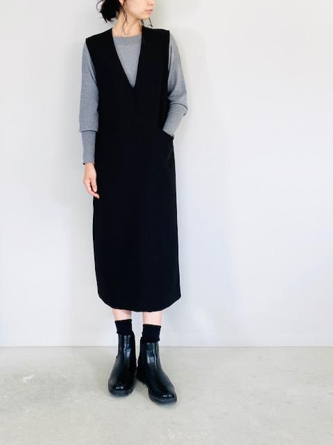 SELECT (セレクト)  深Vネックジャンパースカート