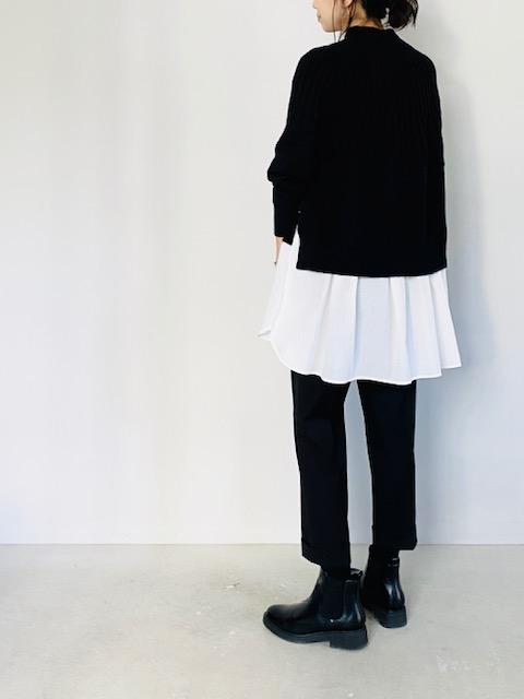 COLOR:ブラック×ホワイト