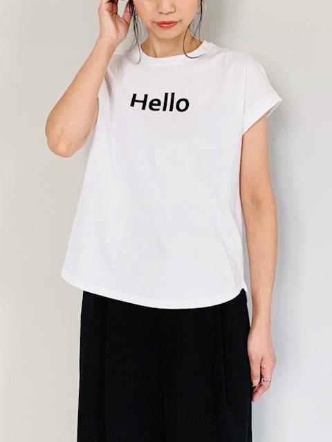 SELECT(セレクト)  Hello ロールアップT-SHIRT