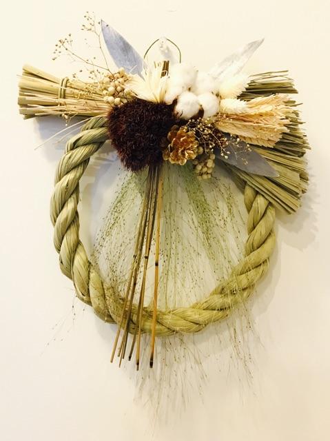 atelier nina(アトリエ ニナ)  originalしめ縄 : cotton